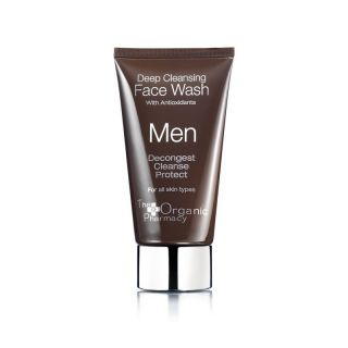 The Organic Pharmacy Men Deep Cleansing Face Wash, 75ml