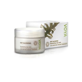 Voya Get Glowing Face Mask, Gesichtsmaske 50ml