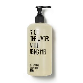 stop the water while using me All Natural Lemon Honey Soap, Flüssigseife 500ml