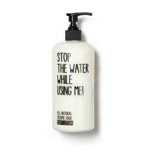 stop the water while using me All Natural Sesame Sage Body Lotion, Körperlotion 500ml