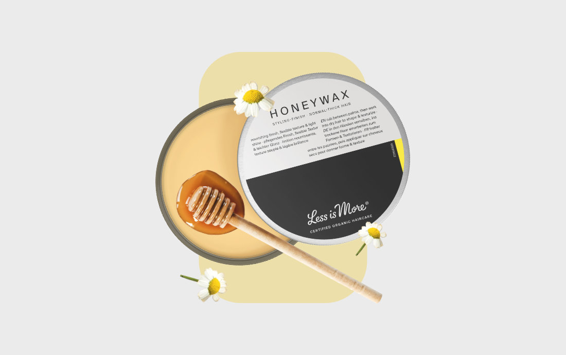 less is more -  organic hair care by...