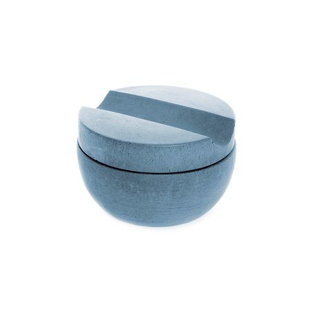 Iris Hantverk Shaving Cup Including Soap, Schale mit Rasierseife Blau 1 Stück