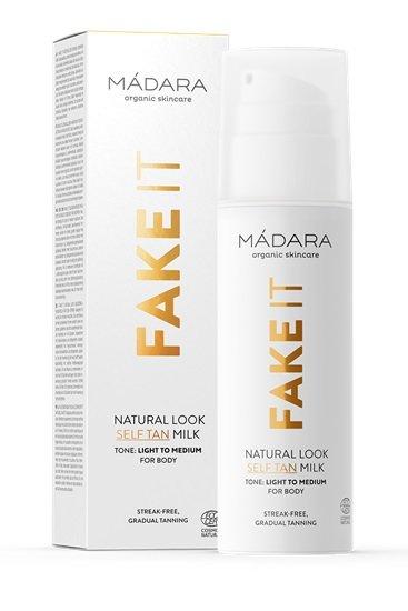 Madara FAKE IT Natural Look Self Tan Milk, Selbstbräuner 150ml