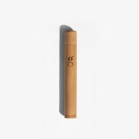 GRUMS Bamboo Toothbrush CASE, Zahnbürstenetui Bambus...