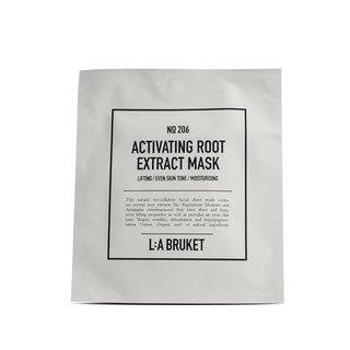 L:a Bruket No. 206 Activating Root Extract Mask Mask, Anti Aging Vliesmaske EINZELPACKUNG 24ml