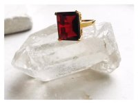 shyla jewellery Claudia Ring Ruby Red Small, Ring...