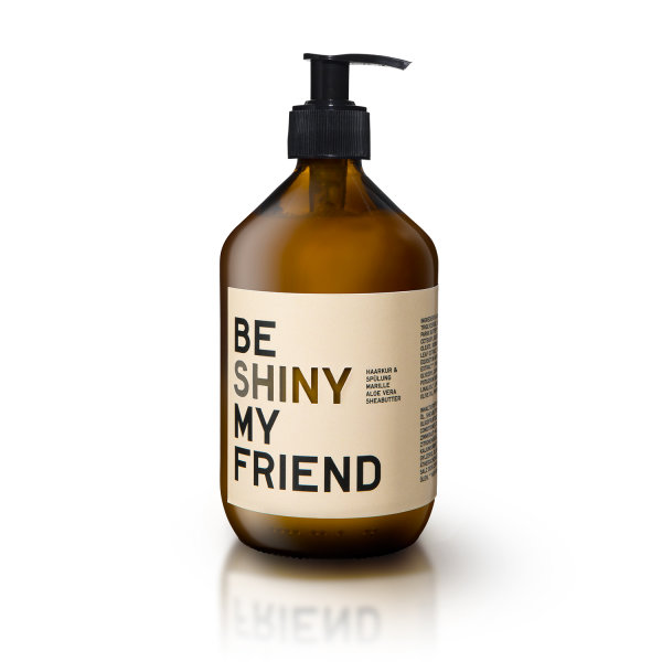 be [...] my friend - be shiny my friend, Haarkur & Spülung FAMILY Marille Aloe Shea Butter 500ml