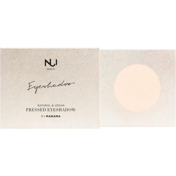 NUI Berlin Natural Pressed Eyeshadow 1 MARAMA Cashmere 2,5g