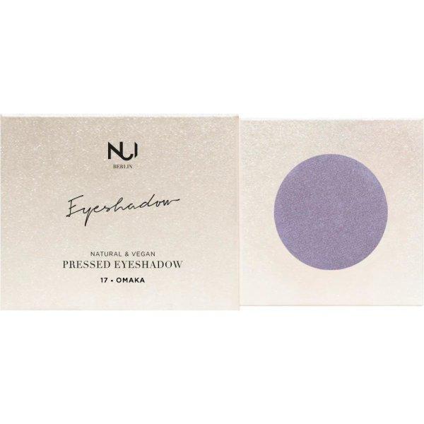 NUI Berlin Natural Pressed Eyeshadow 17 OMAKA Lavendel 2,5g