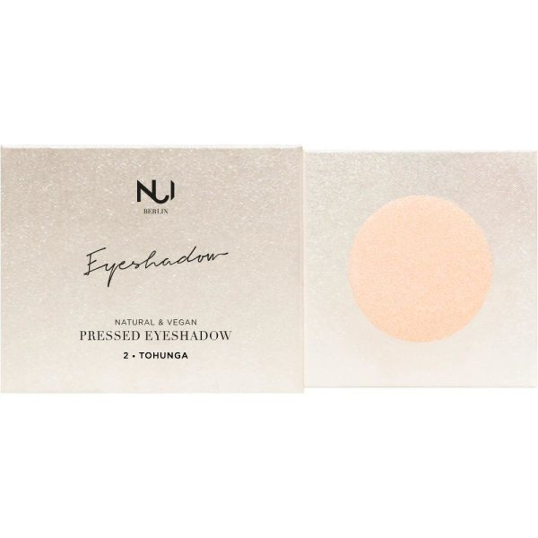NUI Berlin Natural Pressed Eyeshadow 2 TOHUNGA Apricot 2,5g