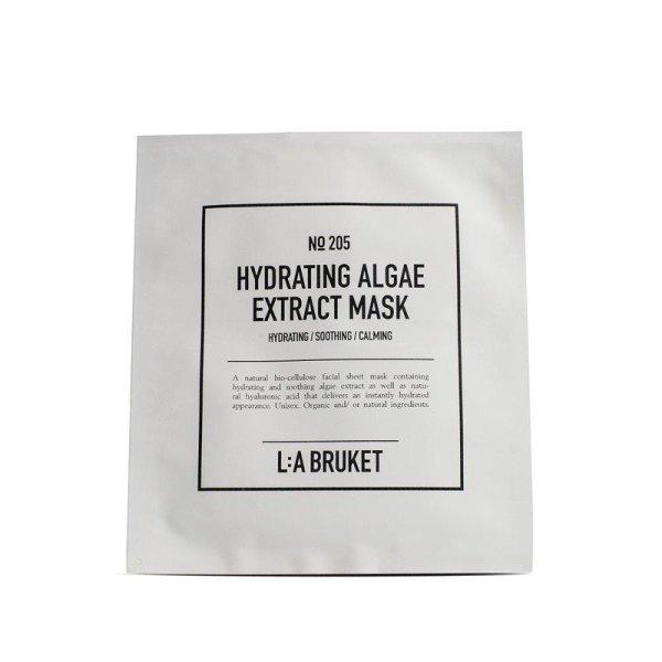 L:a Bruket No. 205 Hydrating Algae Extract Mask, feuchtigkeitsspendende Vliesmaske EINZELPackung 1 x 24ml