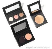 HIRO Cosmetics Refillable Makeup Palette Double Dutch,...