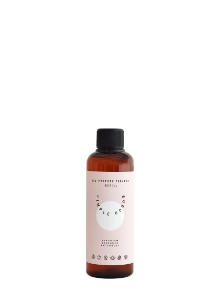 Simple Goods All Purpose Cleaner Spray Geranium, Lavender & Patchouli REFILL, Allzweckreiniger, Konzentrat 100ml