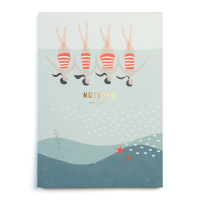 pleased to meet Synchronised Swimming Notebook, Notizbuch...