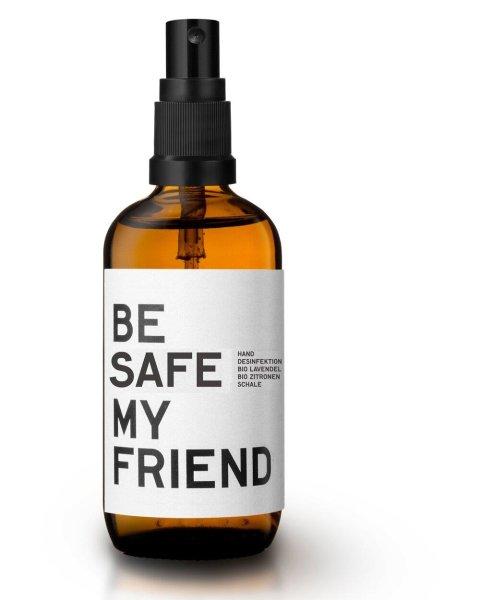 be [...] my friend - be safe my friend Nourishing Sanitizer, Hand-Desinfektion Lavendel-Zitronenschale 100ml
