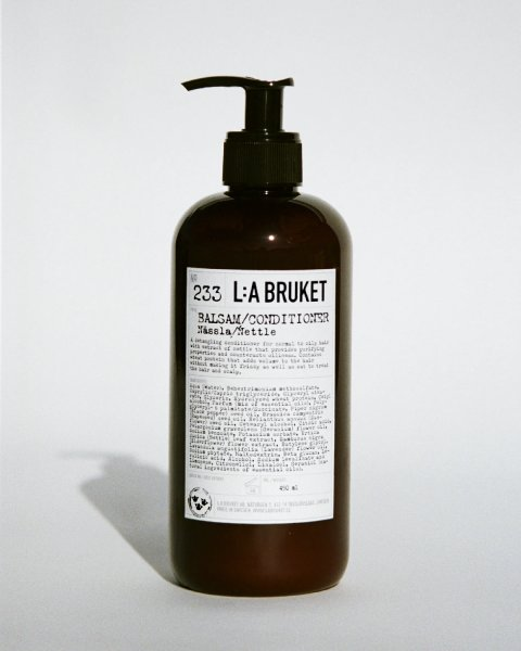 L:a Bruket No. 233 Nässla/Nettle Balsam/Conditioner, Brennnessel Spülung GROß 450ml