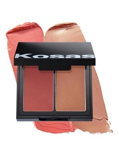 kosas color & light cream blush and highlighter Velvet Melon HIGH INTENSITY, Rouge & Highlighter 9g