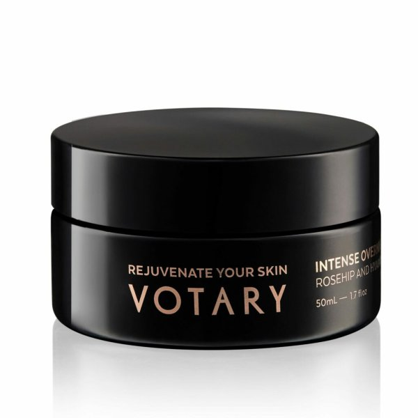 Votary Intense Overnight Mask Rosehip and Hyaluronic, Maske 50ml