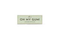 OH MY GUM plant based chewing gum mint, Kaugummi Minze 19g