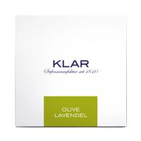 Klar Haar- und Körperseife Olive & Lavendel 250g