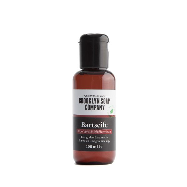 Brooklyn Soap Company Bartseife mit Aloe Vera & Pfefferminze 100ml
