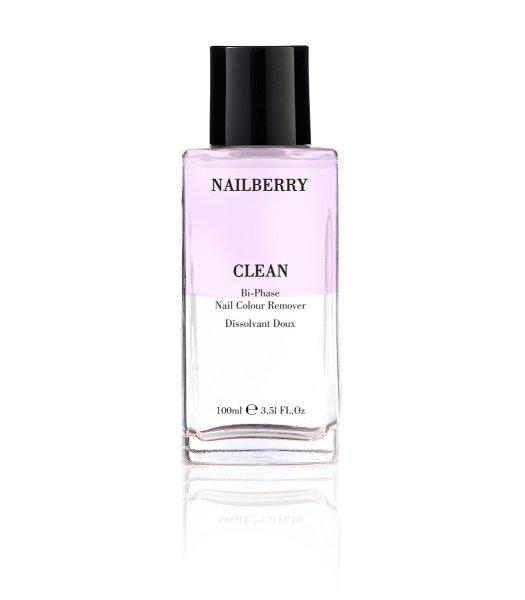 Nailberry CLEAN Bi-Phase Nail Colour Remover, Nagellackentferner 100ml