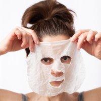 clean beauty concept Seidentuch Gesichtsmasken 20 Stück