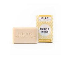 Klar Festes Shampoo Muskat/Vanille 100g
