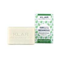Klar Festes Shampoo Kamille/Brennnessel 100g