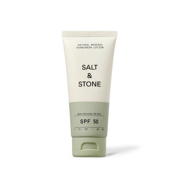 salt & stone mineral sunscreen lotion SPF50, Sonnencreme LSF50 88ml
