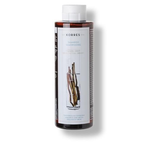 Korres Shampoo Liquorice and Urtica 250ml
