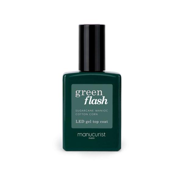 manucurist GREEN FLASH 3 Top Coat, Gel-Überlack 15ml