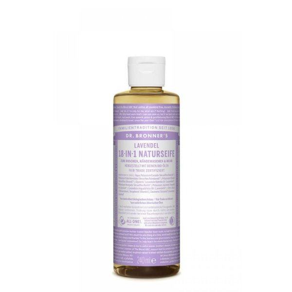 Dr. Bronners 18-in-1 Naturseife Lavendel  240ml