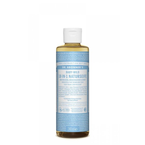 Dr. Bronners 18-in-1 Naturseife Baby-Mild