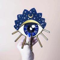 malicieuse Patch zum Aufbügeln, Mystic Eye 1 Stück