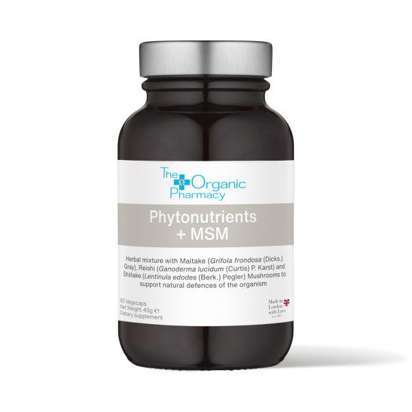 The Organic Pharmacy Phytonutrient + MSM 60 cps
