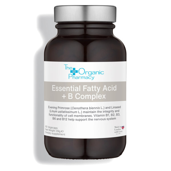 The Organic Pharmacy Essential Fatty Acids & Vitamin B Complex 60 cps