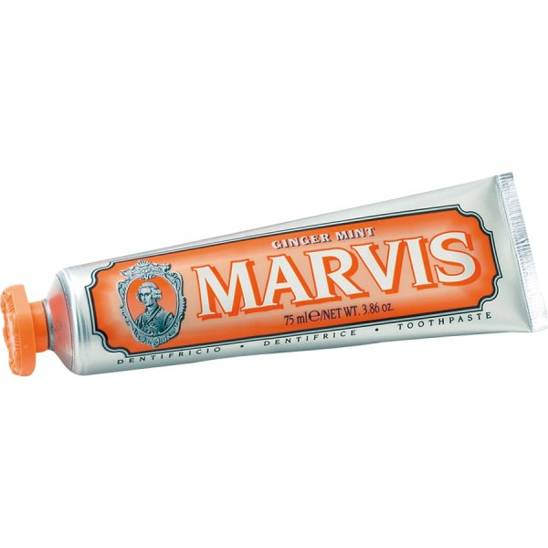 MARVIS Ginger Mint TRAVEL, Zahnpasta Ingwer-Minze 25ml