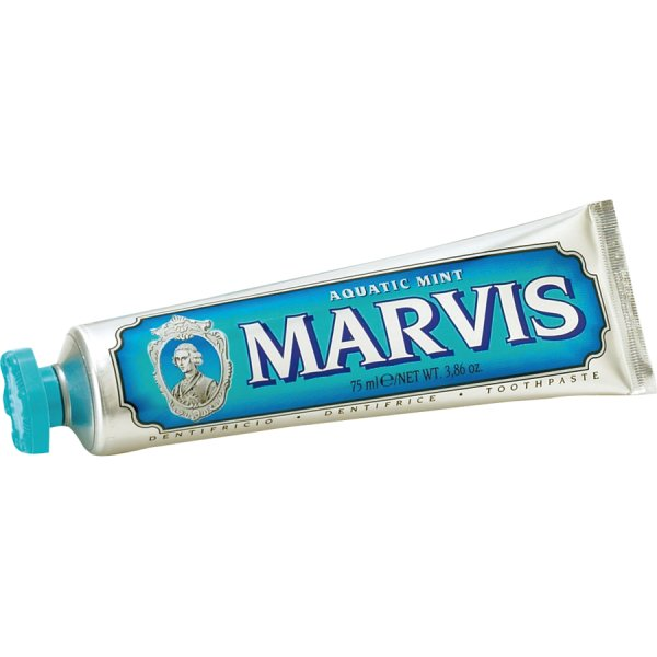 MARVIS Aquatic Mint TRAVEL, Zahnpasta Wasserminze 25ml