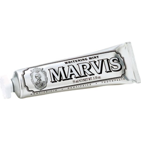 MARVIS Whitening Mint TRAVEL, Zahnpasta Minze für weiße Zähne 25ml