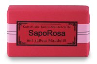 ApoManum Seife Saporosa (feine Rosen-Mandelseife) 100g