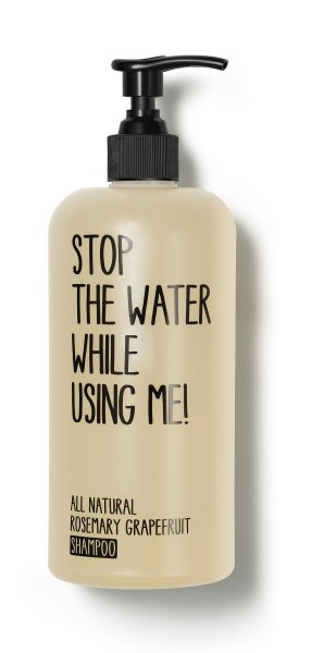 stop the water while using me All Natural Rosemary Grapefruit Shampoo, Shampoo 500ml