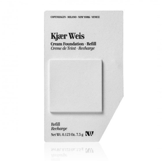 Kjaer Weis Cream Foundation Velvety REFILL, Foundation dunkles Beige 7,5g