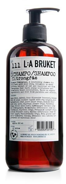 L:a Bruket No. 111 Schampo CITRONGRÄS, Shampoo Citronengras 450ml