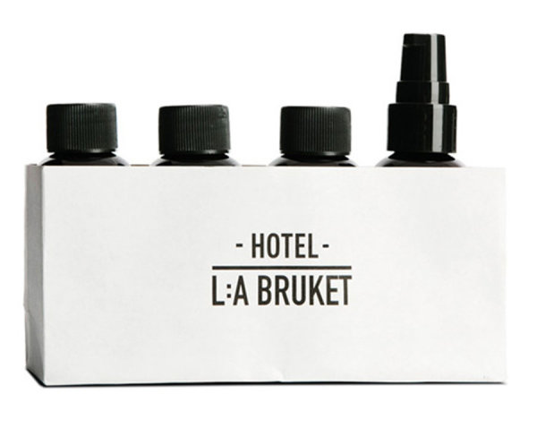 L:a Bruket No. 165 TRAVEL KIT, Reiseset 4 x 60ml 1 Stück