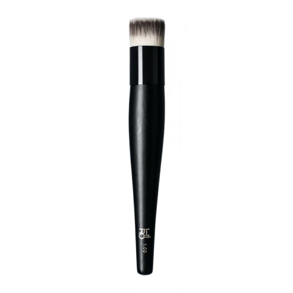 HIRO Cosmetics Flat Top Foundation Brush #1.00, Foundation-Pinsel 1 Stück