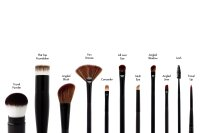 HIRO Cosmetics Flat Top Foundation Brush #1.00, Foundation-Pinsel 1 Stück