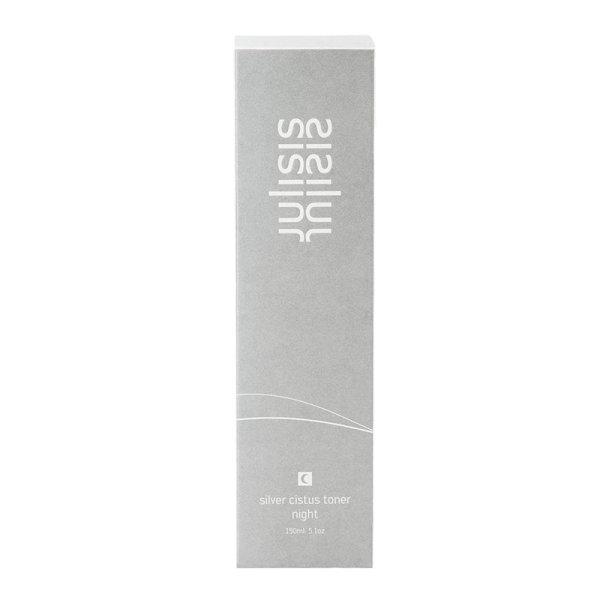 JULISIS silver cistus toner night, Gesichtswasser Nacht 150ml
