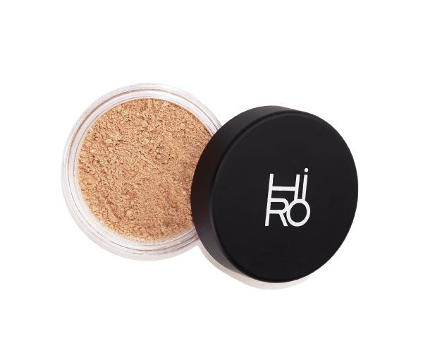 HIRO Cosmetics Mineral Foundation Blondie SPF 25, Mineralpuder mit LSF 25 6g
