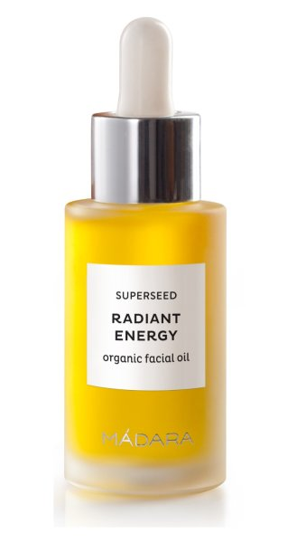 Madara SUPERSEED Beauty Oil Radiant Energy, Gesichtsserum Ausstrahlung 30ml